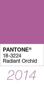 Culoarea anului 2014 - Radiant Orchid