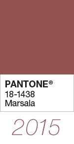 Culoarea anului 2015 - Marsala