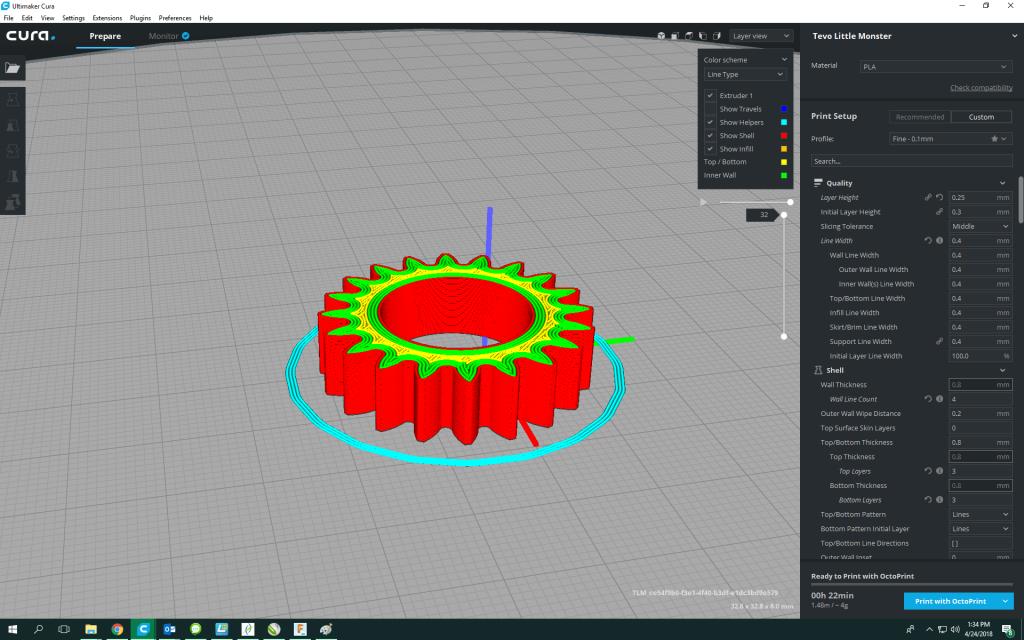 Pregătire pentru print 3D