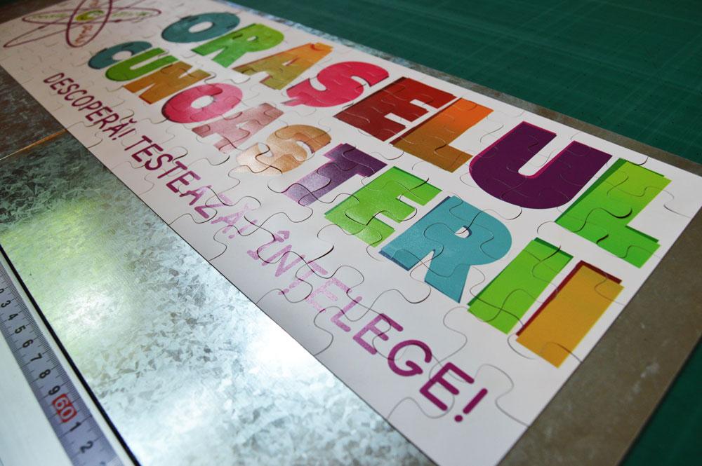 Puzzle folie magnetică personalizat la Magnetic Promo